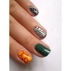 Állatkertbe állatos köröm illik 😊😂💅🏻 #animalprintnails #stampingnailart #moyoulondon My Nails, Nail Art, Beauty, Instagram, Nail Arts, Beauty Illustration, Nail Art Designs
