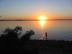Sunset at Marion Reservoir, Kansas