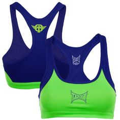 TapouT Womens Performance Bra Top [Green]