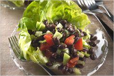 Lime Zested Tomatillo Black Bean Salad