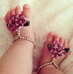 Baby+barefoot+sandals+baby+shoes+baby+jewelry+by+Aupetitpied,+$22.00                                                                                                                                                                                 Mais