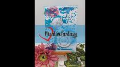 MixedMedia Karte A6, Gelli-Abdruck, *GreenLEAVES*, #KreativeFantasy Diy Blog, Fantasy, The Creator, Art, Creative, Ideas, Art Background, Kunst, Fantasy Books