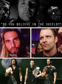 Oh yes, I do believe in the shield. Believe in The Shield!