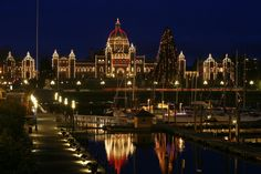 Victoria, British Columbia Canada -    One of the prettiest places I've been to =)