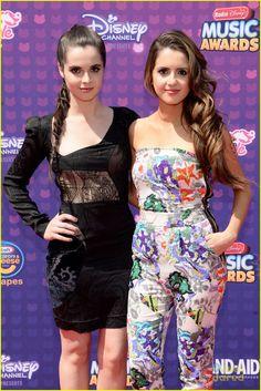 Vanessa & Laura Marano at the Radio Disney Music Awards 2016