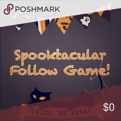 Follow game 🕸🎃🕷 Let's get so many followers that it's SCARY!!! 🎃How to Play: 1. Like this post 2. Share this post 3. Follow everyone else who liked this post and they will follow you back!! 🕷✌🏻️🎃 Happy Halloween! Hot Topic Dresses