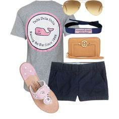 A fashion look from May 2013 featuring short shorts, jack rogers sandals and ray ban glasses. Browse and shop related looks.
