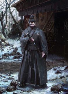 Artwork done for Samurai Forge Client: Deep Arrow Studio Arte Ninja, Ninja Art, Amaterasu, Fantasy Warrior, Fantasy Art, Fantasy Samurai, Samurai Concept, Ronin Samurai, Samurai Wallpaper