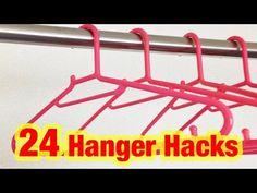 24 Amazing Hanger Hacks Everyone Needs To Know - DIY & Crafts