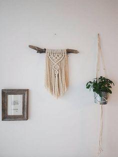 FELICITY// Fringe Macramé Wall Hanging/ Boho Décor/ Modern/ Bohemian