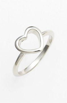 $18.00 Ariella Collection Symbol Ring available at Nordstrom Pretty little thing! Would look good as a necklace as well.