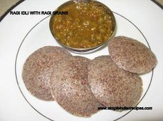 Ragi Idli: Idli made with ragi