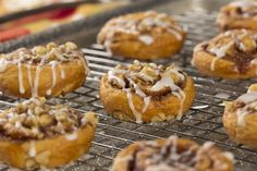 Whether you like cinnamon rolls with your morning coffee, or you like to treat yourself to one after dinner...you're gonna love our perfectly portioned Easy Mini Cinnis. These bite-sized cinnamon rolls are great for satisfying your cravings without r