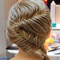 Fun Summer Hair Style for long hair