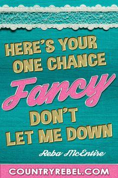 Fancy by reba lyrics
