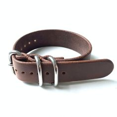 20/22mm Horween Zulu Watch Strap