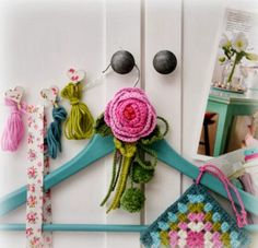 crochet+hanger+decoration A Cath Kidston Filled Home