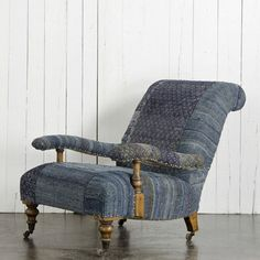 Lounging Chair - Furniture - RLH Collection - Ralph Lauren Home -  - Ridiculously expensive but very pretty!