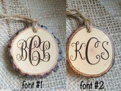 Rustic Key Chain Wood Slice Key Ring Custom by SweetHomeWoods
