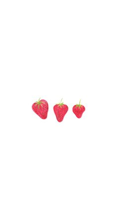 #Strawberries / Download more #Fruity #iPhone #Wallpapers and #Backgrounds at @prettywallpaper