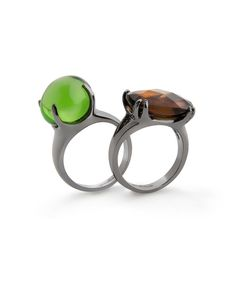 Lady Noir Rings - Click image for JewelMint