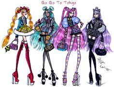 Go Go To Tokyo collection by Hayden Williams