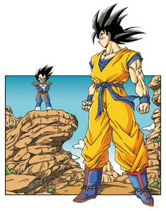 9df0c4f4f718 Dbz, Goku And Vegeta, Son Goku, Dragon Ball Z, Video Game Art