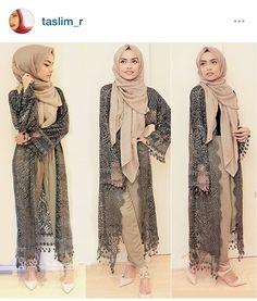 Modest hijab