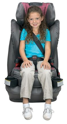 The Britax Parkway SGL Belt-Positioning Booster Seat offers premium safety, comfort and convenience for your big kid.
