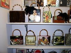 Assorted Cigar Box Purses