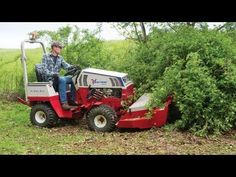 Clearing Brush and Thorn Bushes with Ventrac
