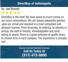 DirectBuy is the best! We have saved so much money on our home rennovations. We are always...