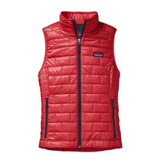Windproof, warm, and lightweight, the Patagonia Women's Nano Puff® Vest is ideal insulation under a shell. Made with PrimaLoft® Gold insulation.