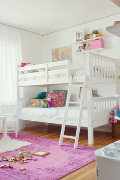 The 77 Best Bunk Beds For Girls Room Images On Pinterest Suspended