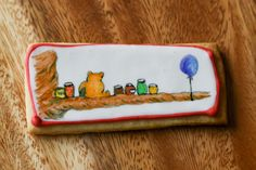 More cookie painting on royal icing - Winnie the Pooh this time - what fun! Chef Supplies, Tea Blog, Cut Out Cookies, My Tea, Royal Icing, Tea Time, Winnie The Pooh, Desserts, Fun