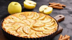 Apple and ricotta cake Diabetic Recipes, Cooking Recipes, Ricotta Cake, Queso Ricotta, Pastry Cake, Sin Gluten, Gluten Free, Apple Pie, Sugar Free