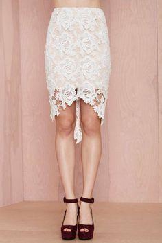 Keepsake I Will Wait Lace Skirt - Skirts | Keepsake | Keepsake | Clothes | All