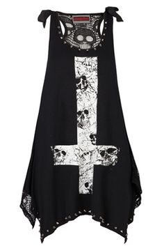 jawbreaker gothic studded top £23.99 size small from katesclothing.co.uk
