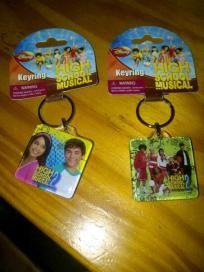 highschool musical key chain