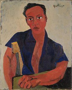 Renato Guttuso (1911-1987) Autoritratto, 1943