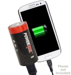 A small sized but powerful, battery shaped battery charger