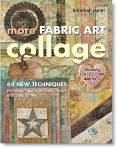 """Winner of our Book Giveaway """"More Fabric Art Collage"""" USA only · Felting 