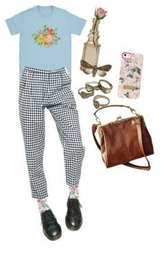 """Untitled #80"" by shenzi-uni ❤ liked on Polyvore featuring STELLA McCARTNEY, Dr. Martens, Motel, Cultural Intrigue and Ted Baker"