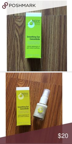 Juice Beauty Smoothing Eye Concentrate Juice Beauty Smoothing Eye Concentrate. Brand New. .5 fl. oz. Retail: $29. Sephora Other