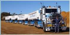 ROAD TRAIN - ONLY IN AUSTRALIA