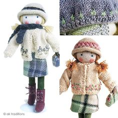 Handmade felt doll from ak traditions. Must buy one.