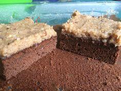 German Chocolate Cake (fat pills) German Chocolate, Chocolate Cake, Pills, Fat, Desserts, Chicolate Cake, Tailgate Desserts, Chocolate Cobbler, Bolo De Chocolate