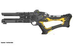 ArtStation - RGX (Rail Gun Xeno) WIP!!, Paul Dave Malla
