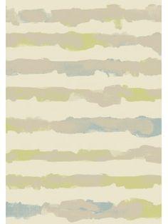 Tapis abstrait vert et bleu pastel - OPTIMIST COSY