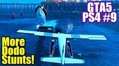 GRAND THEFT AUTO 5 [9] MORE DODO STUNTS and Girl Gamer Kills Target (PS4...